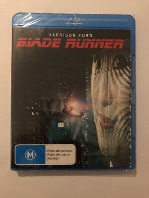 Blade Runner (Blu Ray) Brand New & Sealed 🍿 Sci-Fi Harrison Ford Rated M