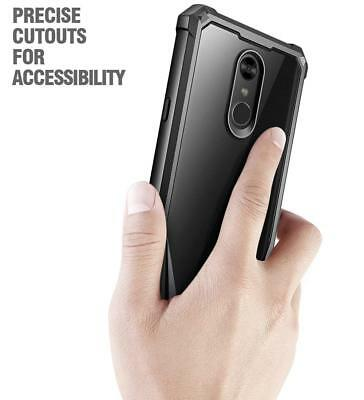 Poetic Guardian Case Scratch Resistant Full-Body Rugged Bumper for LG Stylo 4 BK