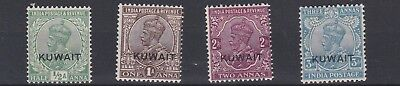 Kuwait  1929 - 37  S G 16 - 20  Various Values To 3A  Blue Mh