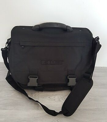 New Biomet Black 18Inch Laptop Bag Lots Of Pockets High Quality *special Price*