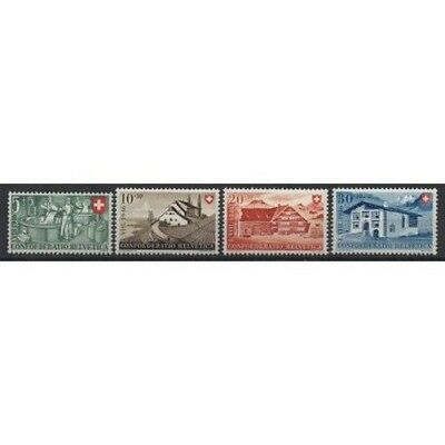 1946 Swiss Switzerland Pro Series Patria 4 Val Mnh Mf57049