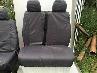 'PRESTON INNOVATIONS' Style Logo Car / Van Seat Covers