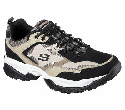 temperament shoes various styles outlet on sale WIDE FIT CAMOUFLAGE Skechers Shoes Men Memory Foam Athletic ...
