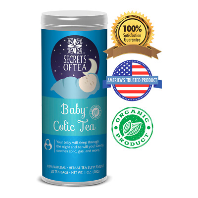 Baby Colic Tea - Digestive & Colic Prevention Herbal Tea - Soothes Acid Reflux