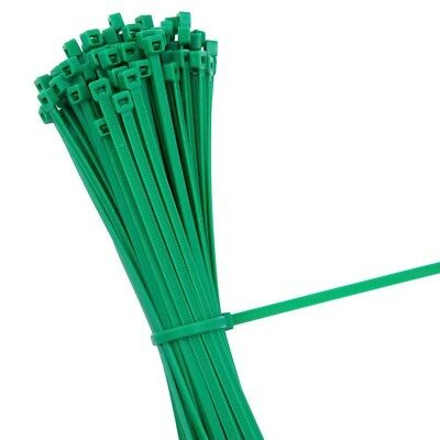 GREEN STRONG QUALITY NYLON CABLE TIES ZIP WRAPS - Small/Large Short/Long UK