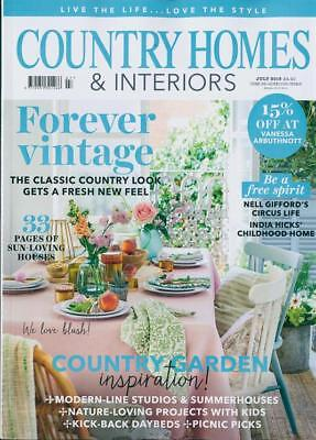 Country Homes & Interiors Magazine Issue July 2018  ~ New ~