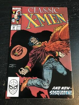 Classic X-men#26 Awesome Condition 8.0(1988) 1st Alpha Flight(cameo)