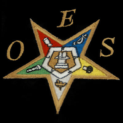 Order of the Eastern Star OES Emblem- 5 Inches-New!