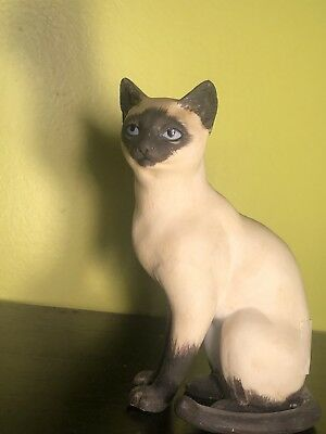 Collectibles From Andrea by Sadek #8290 Siamese Cat Figurine