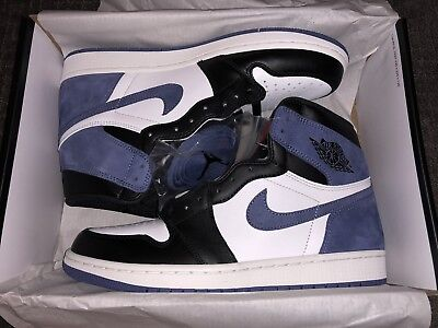 9ec7739610e AIR JORDAN 1 Retro High OG Blue Moon, Size 10 - $249.99 | PicClick