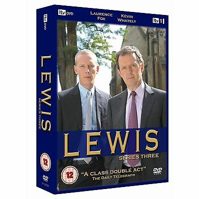 Lewis ITV Series 3 The Complete 3rd Season 4 Disc Box Set Brand New Region 2 DVD