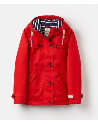 Joules Coast 100% Waterproof Hooded Ladies Jacket - New Season (Y)