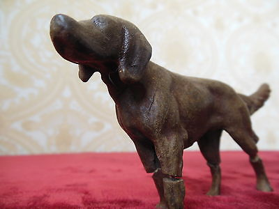 toy hunting dog. Tsarist Russia in the 18th century. Very vintage