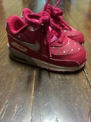 dc949d595cf Nike Air Max Red Pink Silver Metallic Polka Dot Valentines Day