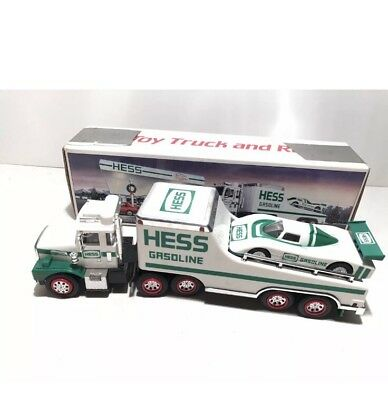 Hess Toy Truck and Racer 1988 new in box