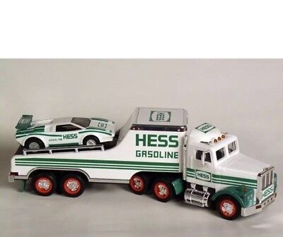 1991 NEW HESS Gasoline TOY TRUCK & RACER NEW IN BOX