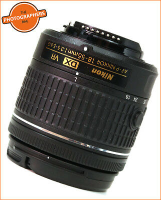 Nikon AF-P DX NIKKOR 18-55mm f/3.5-5.6G VR (LATEST VERSION) Zoom Lens Free UK PP