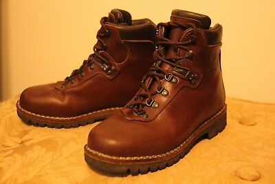 6cc77424baa ALICO SUMMIT FULL Grain Leather Hiking Boots Mens 8M Used -- Excellent