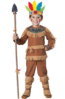 Brand New Native American Indian Boy Toddler Costume