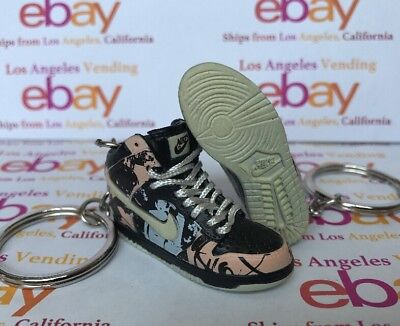 low priced 82a77 f873d Dunk SB High Unkle Dunkle Keychain WITH LACES Cement OG NL Supreme Cali