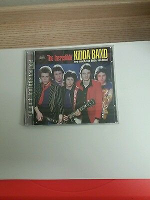 The Incredible Kidda Band 2-CD set - Too Much, Too Little, Too Late! NEAR MINT