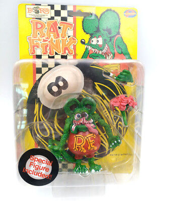 Green Rat Fink Ed Roth Wacky Wobbler Collection Big Daddy Gift Action Figure
