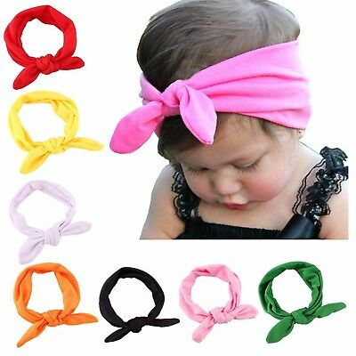 Headband Hair Accessories Baby Girl Toddler Head Wrap Elastic Synthetic Cotton