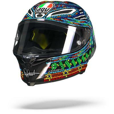 AGV Pista GP R Rossi Winter Test 2018 Limited Edition Motorcycle Helmet