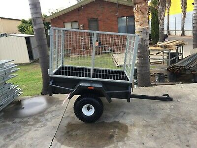 5x3 ATV Tipper Trailer with 2Ft Crate