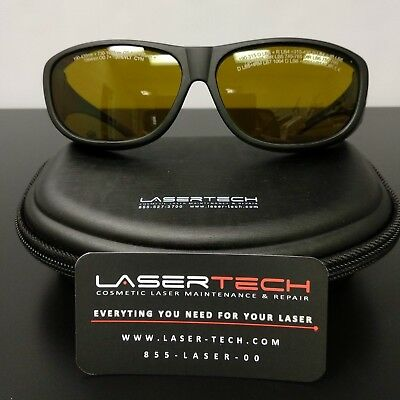 Laser Safety Glasses Eyewear, Goggles, Alex Diode & Yag Laser In One   Fitover
