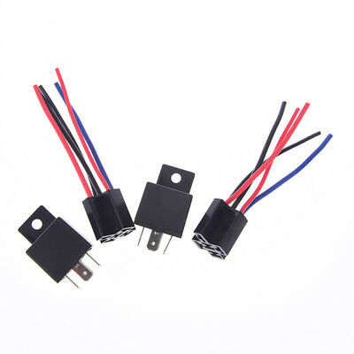 1pcs dc 24v 40a car spdt automotive relay 5 pin 5 wires w/harness jd1914 YU