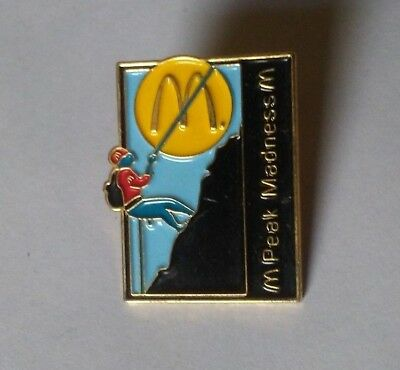 McDonald's Crew Lapel Pin Peak Madness Award Rare