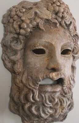 Roman Greek God Face Theater Mask Decor Zeus Dionysus Bacchus Apollo