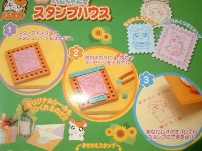EPOCH Hamtaro Hamu-chan's Stamp craft time with box toy game heroine A62