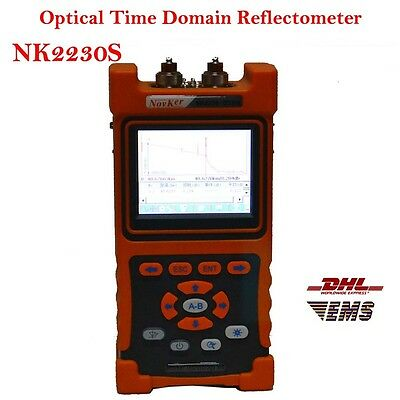3.5 inch OTDR Tester 1310nm/1550nm NK2230S Optical Time Domain Reflectometer