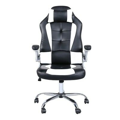 Game Computer Chair Office Race Ergonomic Executive Swivel Desk Task Leather Hot