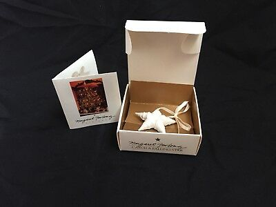 Margaret Furlong 1987 Catch A Falling Star Ornament seashells in Original box