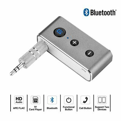 Wireless Bluetooth 3.5mm Audio Stereo Music Streaming Speaker Receiver Adapter