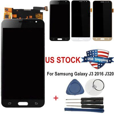 Touch Screen LCD Display Digitizer for Samsung Galaxy J3 2016 J320FN J320P #USA