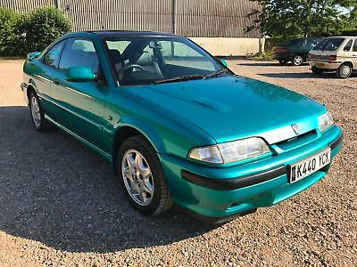 Rover 216 Coupe 1993 with Low Miles - Show Standard Beautiful Example