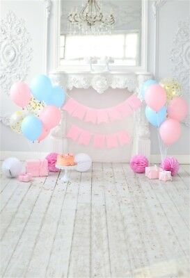 Indoor Baby Birthday Photography Backdrop Photo Shoot Photo Background 5x7ft