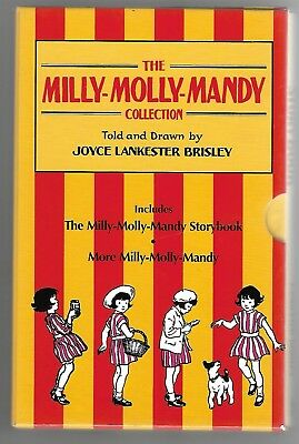 The Milly-Molly-Mandy Collection - Joyce Lankester Brisley- Box Set - Free P&P