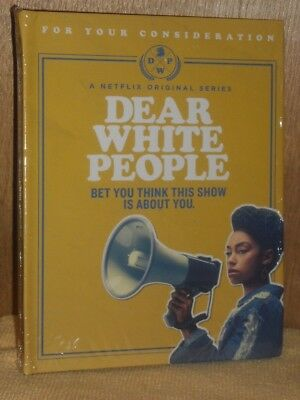 DEAR WHITE PEOPLE - Complete Season1 - Netflix Emmy FYC 2017 DVD