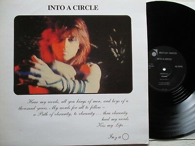 "INTO A CIRCLE: Inside Out – 12""-EP - UK 1986 ABSTRACT RECORDS new wave / gothic"