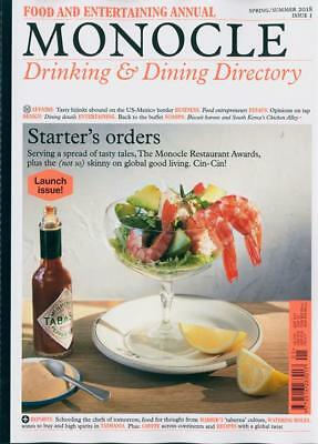 Monocle Magazine Drinking & Dining Directory #1 Spring / Summer 2018 ~ New ~