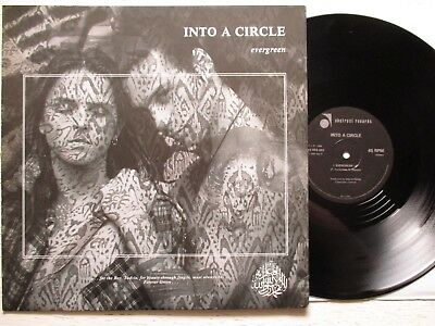 "INTO A CIRCLE: Evergreen – 12""-MAXI - UK 1988 ABSTRACT RECORDS new wave / gothic"