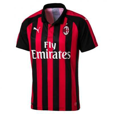 Puma AC Milan Home Mens Short Sleeve Jersey 2018/2019
