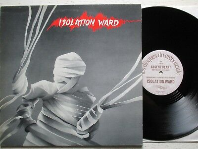 "ISOLATION WARD: Absent Heart / Lamina Christus – 12"" - BEL 1983 new wave/gothic"