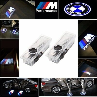 UK BMW CREE LED Projector Car Door Light Shadow Puddle Courtesy Laser LOGO Lamps