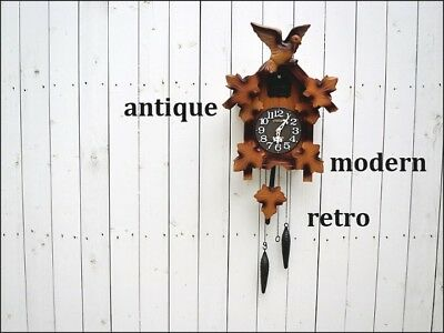 Antique citizen cuckoo clock Japan retro popular rare beautiful cute EMS F/S!